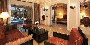 Suite mit privatem Pool