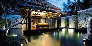 Double Pool Villa - Aussenschlafzimmer