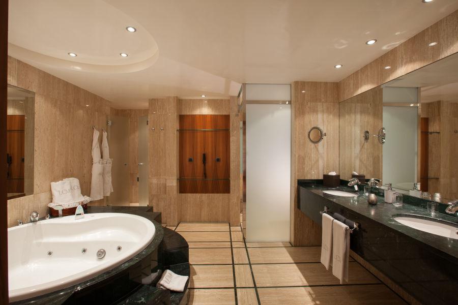 Superior Suite Badezimmer
