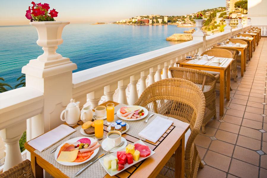 Frühstück Bereich
