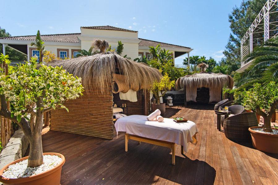 Spa Massage Bereich