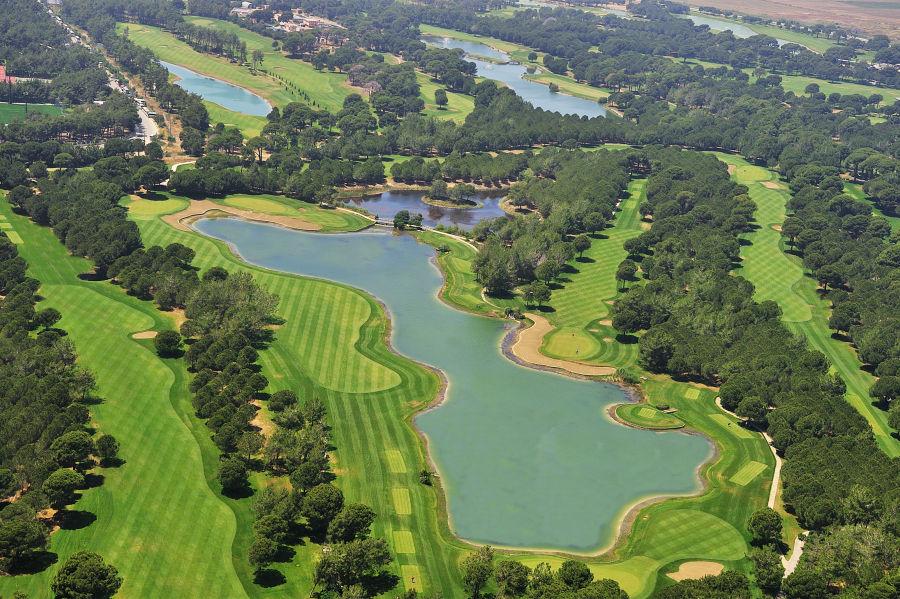 Gloria alter Golfplatz- Luftbild