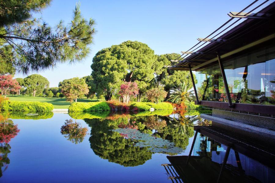 Gloria neuer Golfplatz- Clubhaus