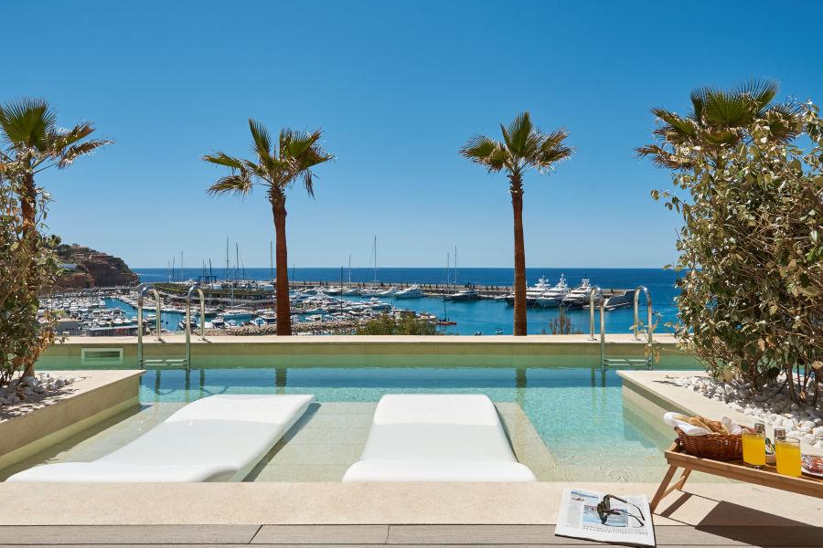 Pool Swim Up Suite