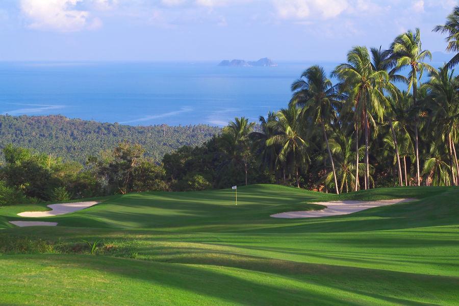 Santiburi Golfplatz