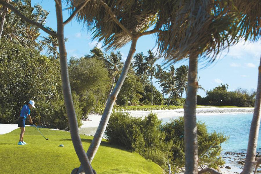 Villingili Golfplatz Hauptbild