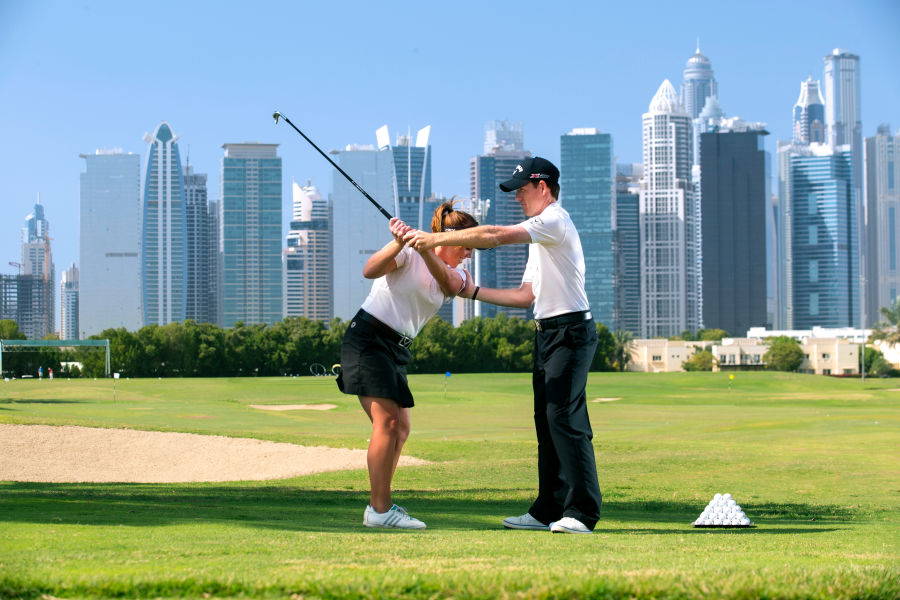 The Montgomerie Golf Course