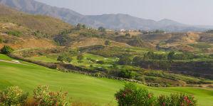 Golfplatz-Landschaft