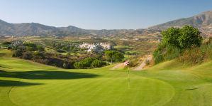 Golfplatz Panoramablick
