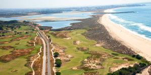 Golfplatz am Meer