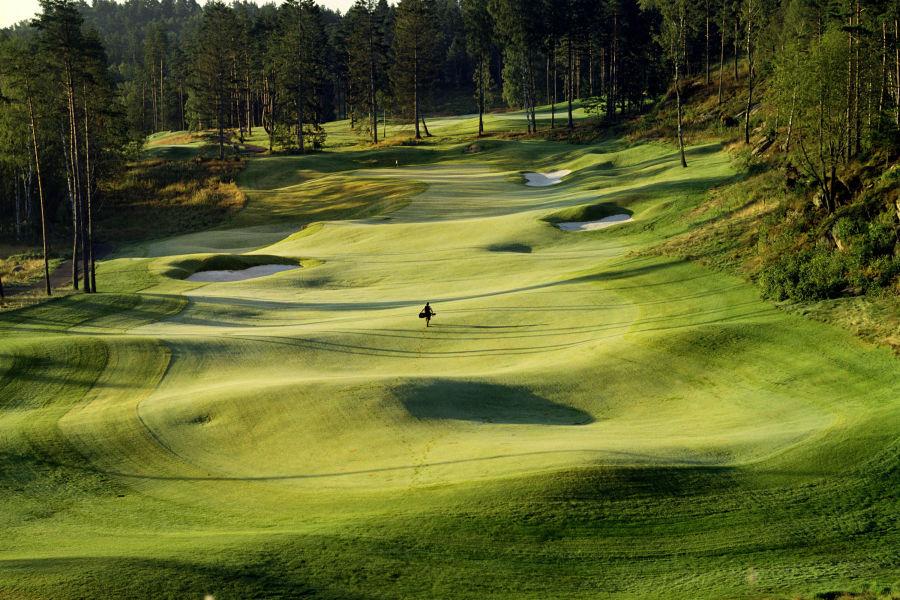 Golfplatz 17. Loch