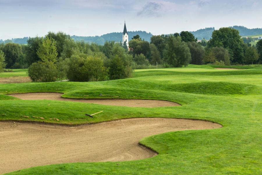 Porsche Golfplatz