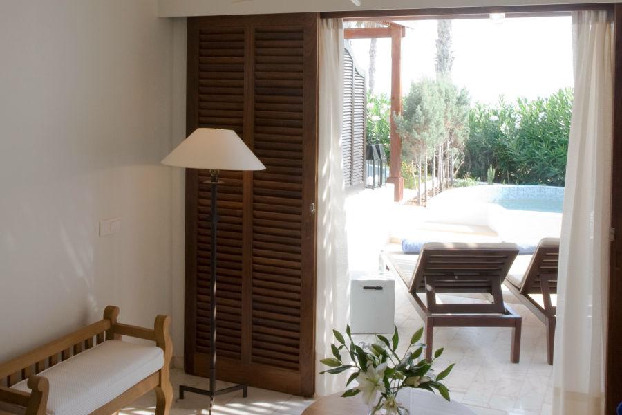 Doppelzimmer Meerblick mit Terrasse