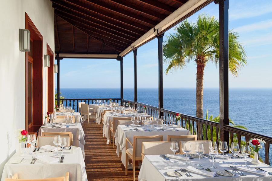 Hauptrestaurant Terrasse