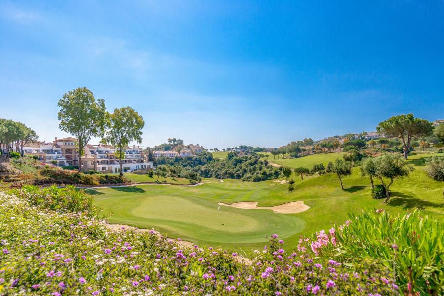 Blick auf den Asia Golfplatz