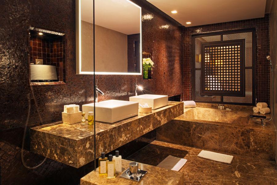 Deluxe Suite Badezimmer