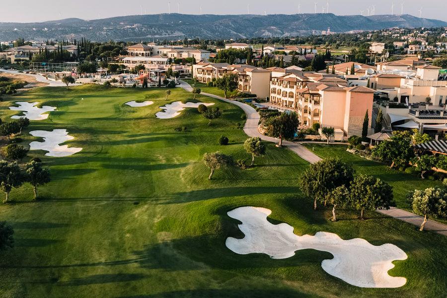 Hotel und Golfplatz