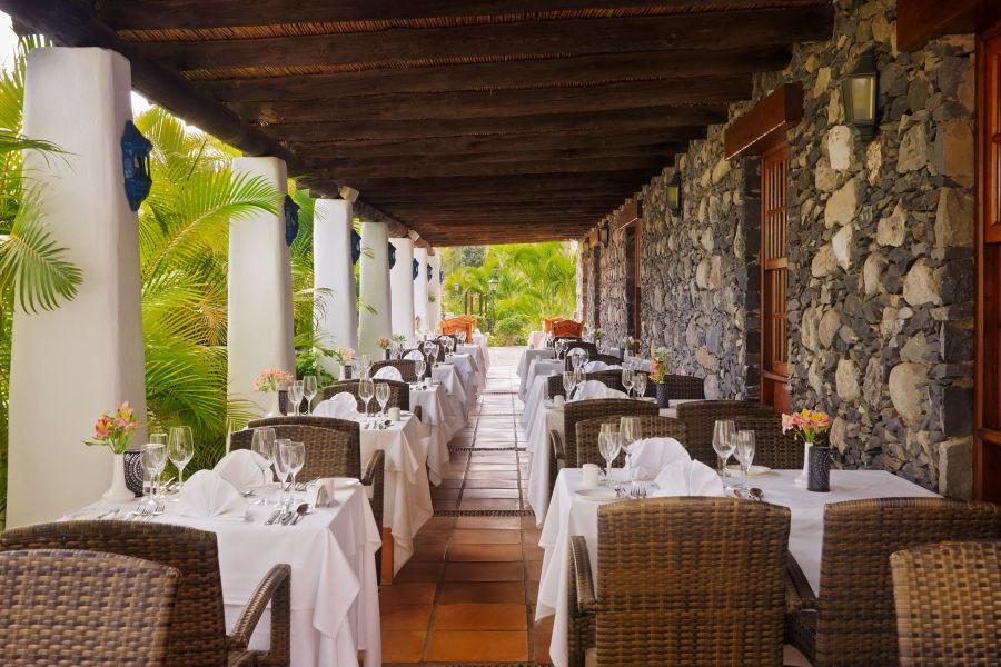 Terrasse Restaurant El Laurel
