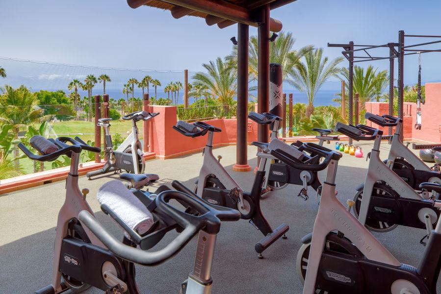 Fitnessbereich Terrasse