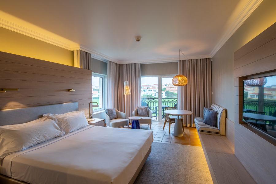 Doppelzimmer mit Garten- oder Golfblick