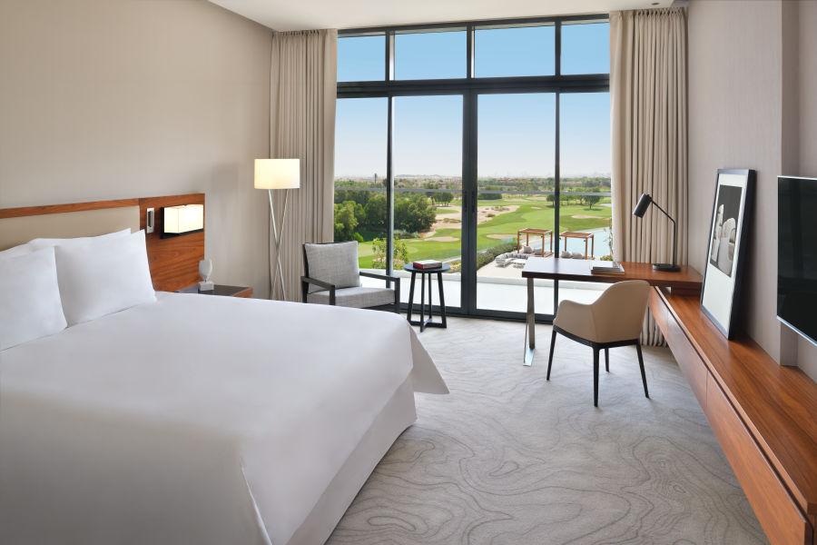 Deluxe Zimmer mit Golfblick