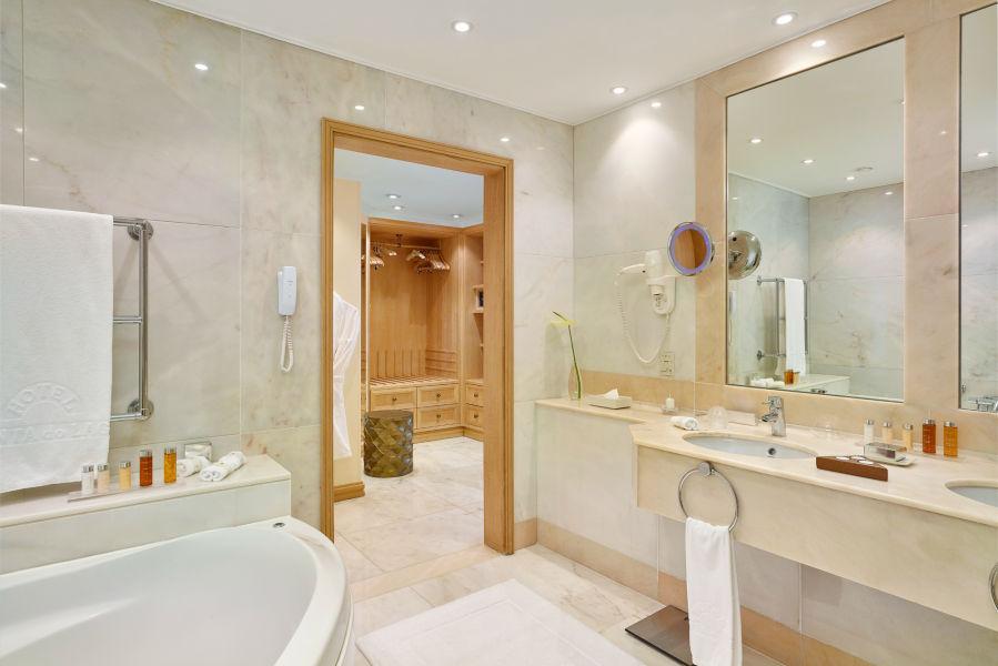 Royal Suite Badezimmer